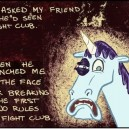Fight Club Unicorn
