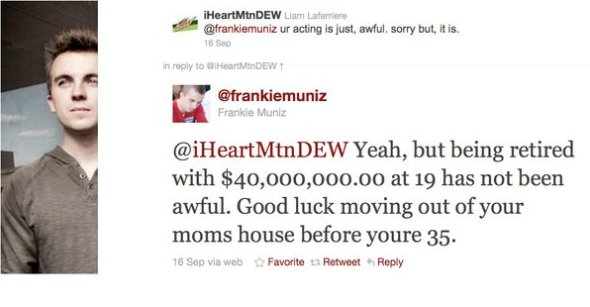 Frankie Muniz is Epic