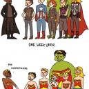 The Avengers Dressing Up