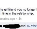 Facebook as a Girlfriend