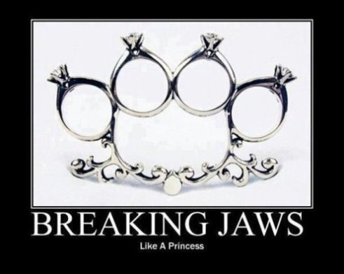 Breaking Jaws Like a Princess