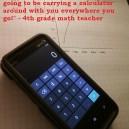 My Teacher Said Exactly The Same Thing!