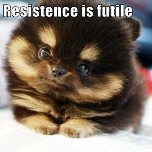 Resistane is Futile