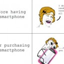 Having a Smartphone
