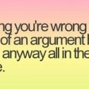 Argument Quote