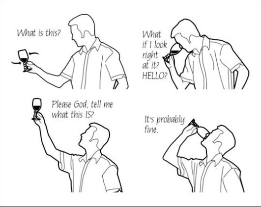 How Normal People Taste Wine
