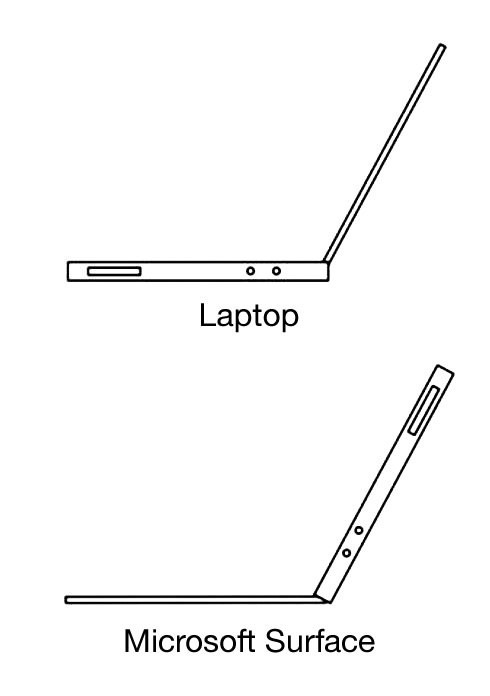 Laptop vs. Microsoft Surface