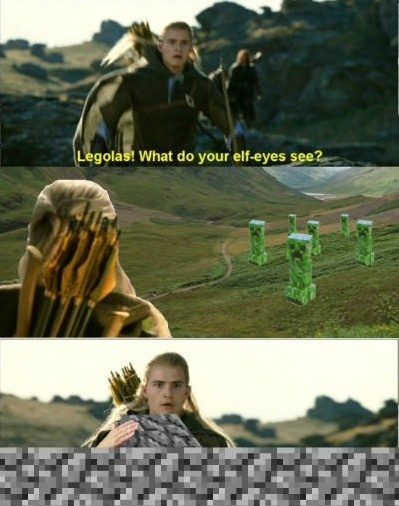 Legolas, What Do You See?