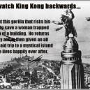 WatchKking Kong Backwards