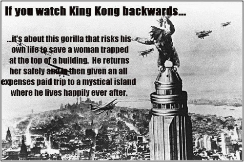 WatchKking Kong Backwards