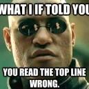 Matrix Morpheus – What If I Told You