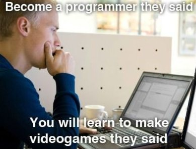 Become a Programmer They Said…