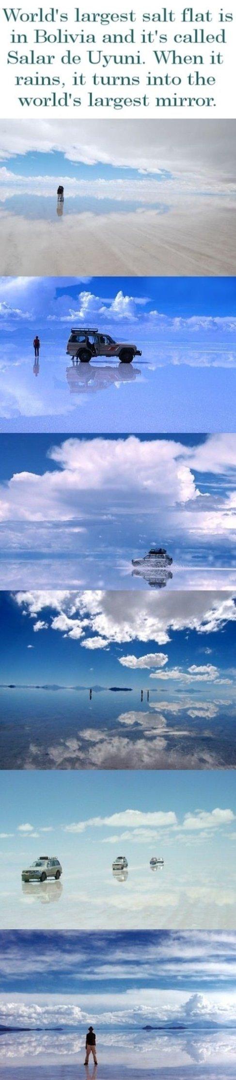 Salar de Uyuni – Border between heaven and Earth