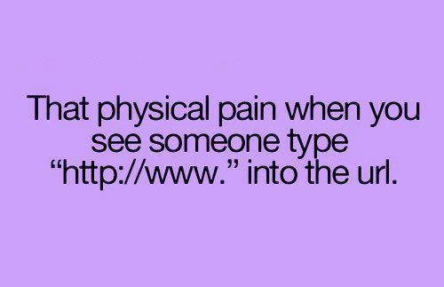 The Physical Pain…