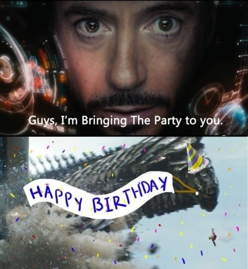 Tony Stark – The Party Planner