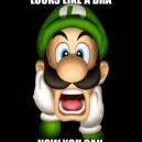 Luigi's Mustache