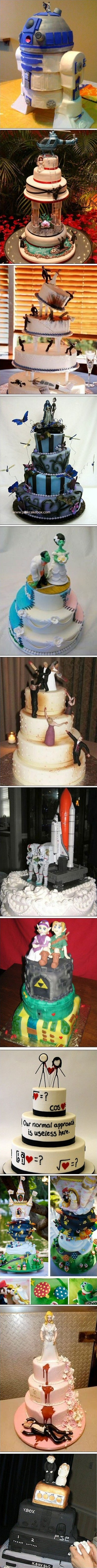 Cool Wedding Cake Ideas