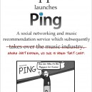Apple Launches Ping