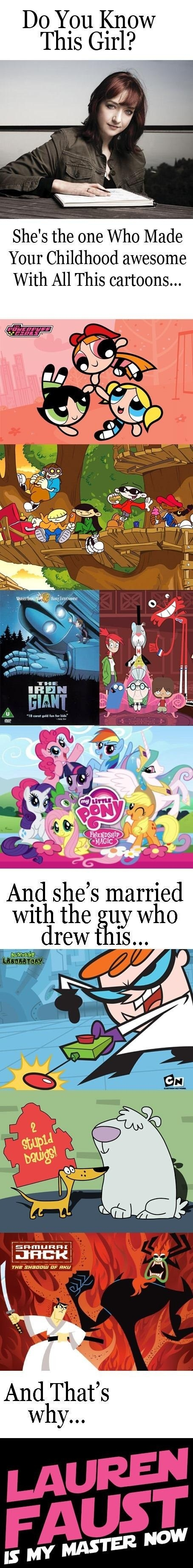 Lauren Faust is Awesome