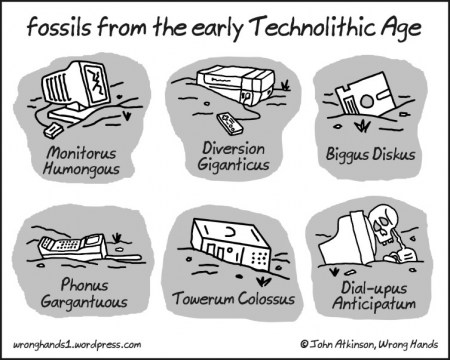 Fossils From The Early Technolithic Age