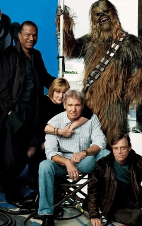 The Old Star Wars Gang