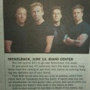 Nickelback Concert Guide