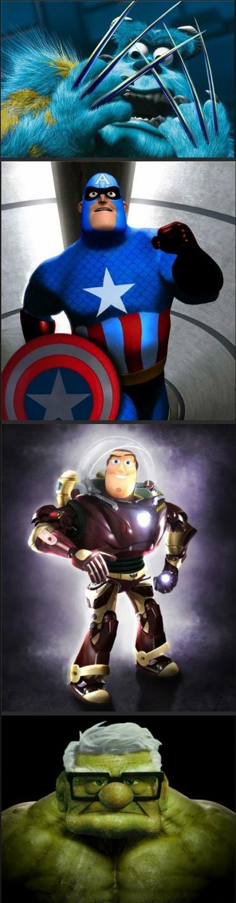 Pixar vs. Marvel