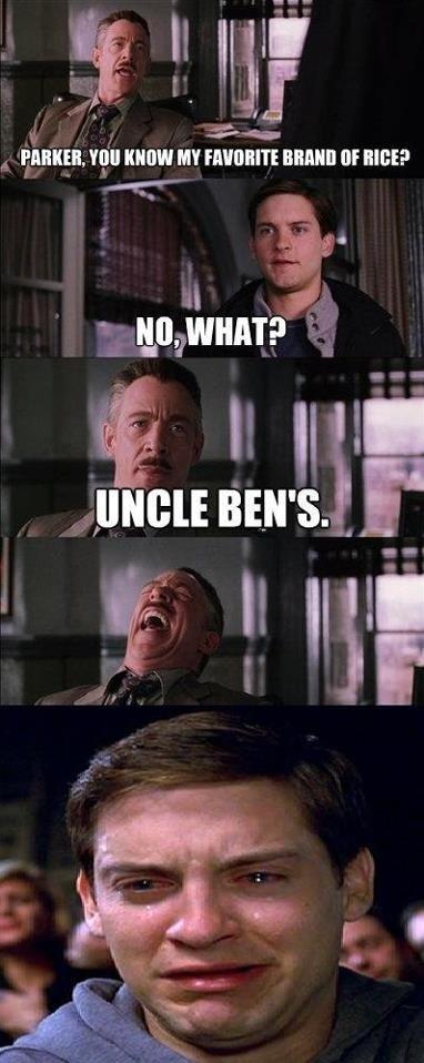 Poor Peter Parker