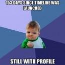 No Facebook Timeline!