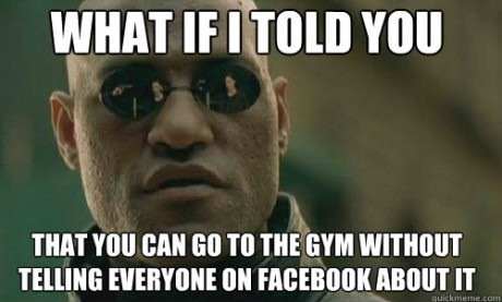 What If I Told You…