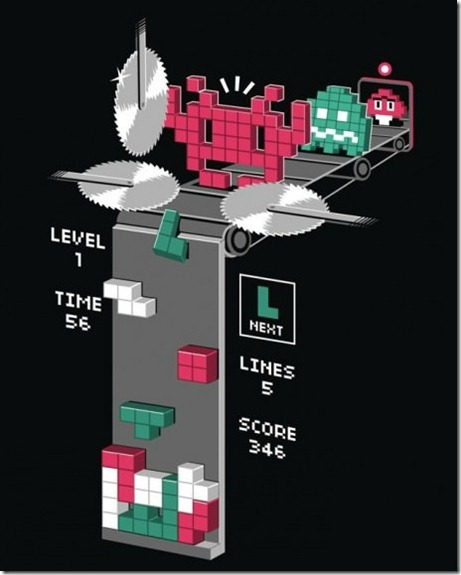 What Goes on Behind the Scenes in Tetris