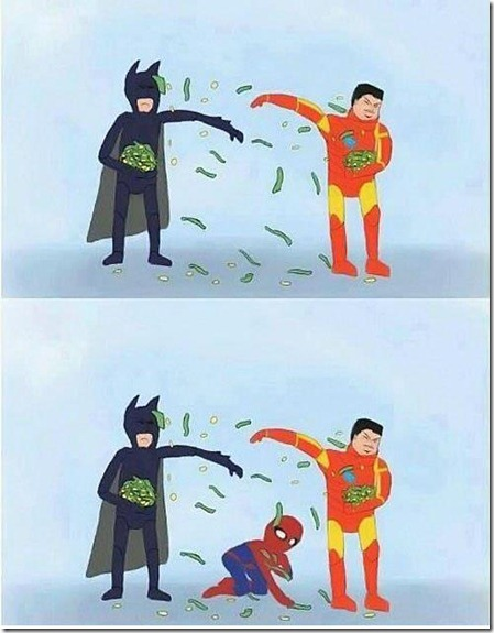 Not All Superheroes Are Rich