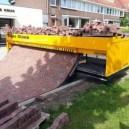 A brick laying machine. Neat!