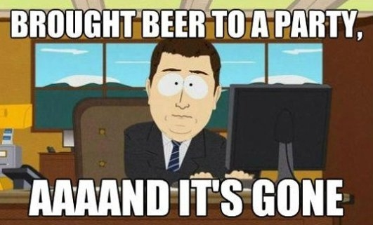 Bring Beer To a Party…