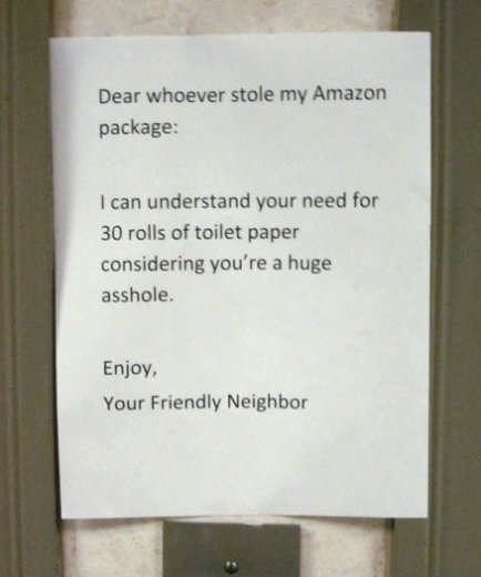 My Amazon Package