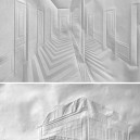 Art made by folding and unfolding sheets of paper