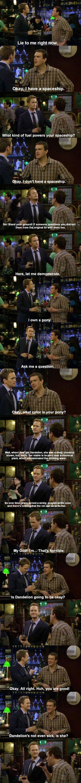 Barney is Barney…