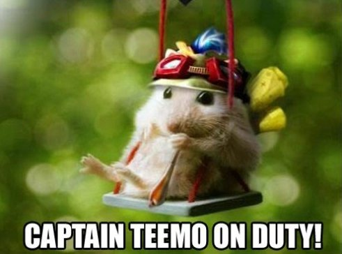 Captain Teemo On Duty!