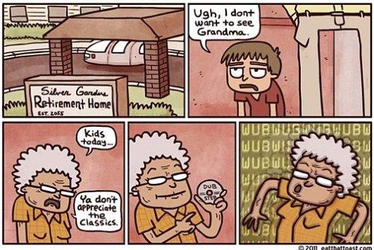 Dubstep Grandma