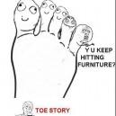 MEME Toes