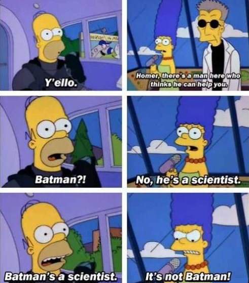It's Batman?