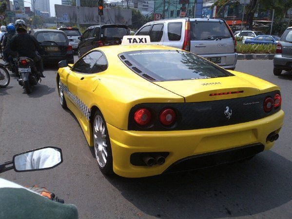Indonesian Taxi in a Whole New Level