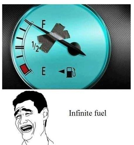 Infinite Fuel