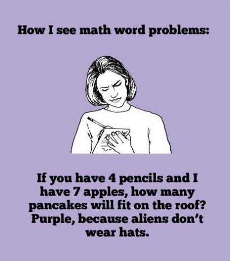 Math – Not FOr All of Us