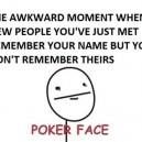 The Awkward Moment…