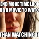First World Problems…