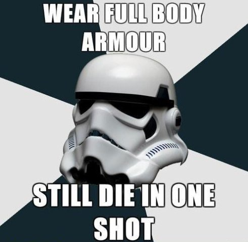 Silly Storm Troopers