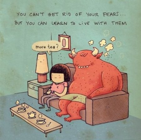 Learn To Live With Fears