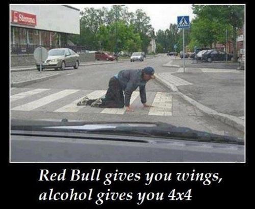 Red Bull vs. Alcohol