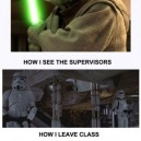 Sitting Exams – Like a Jedi